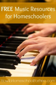 FREE Music Resources for Homeschoolers