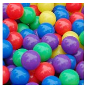 Put plastic colored balls in a pack n play for toddlers!
