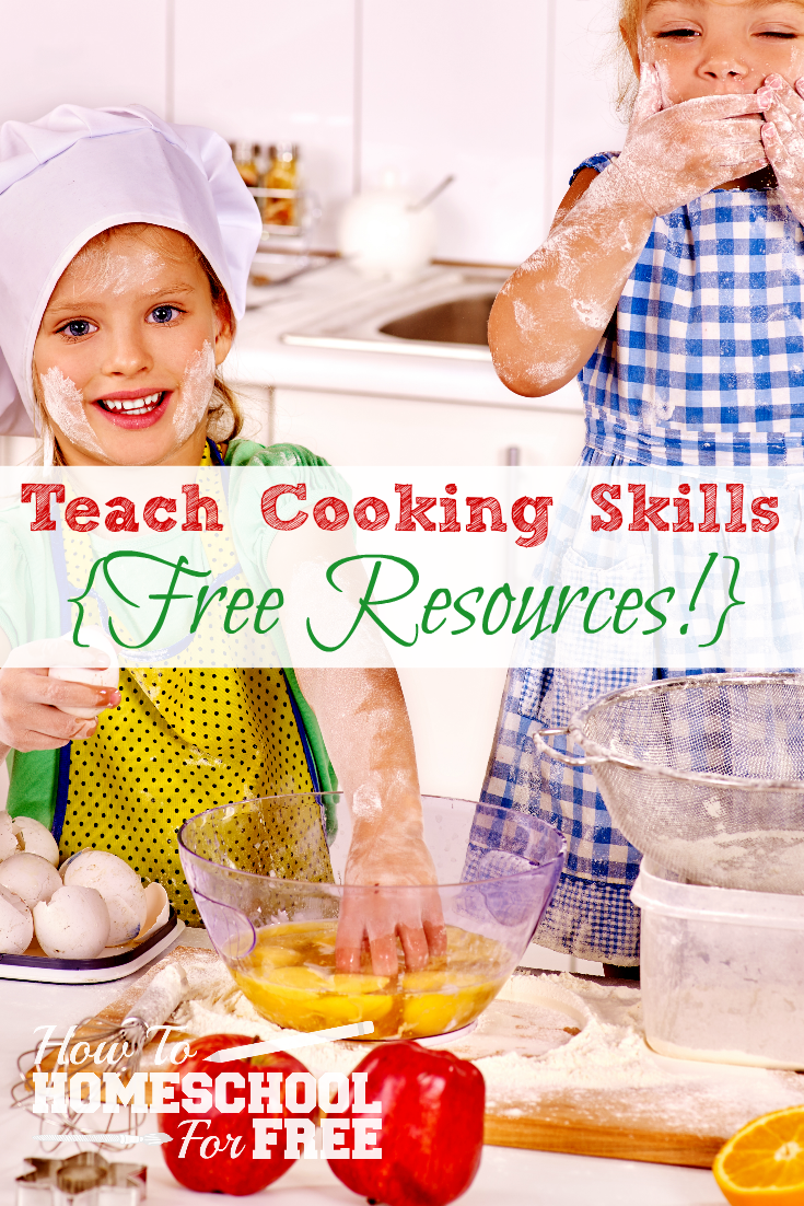 Make pro chefs in the kitchen with these FREE Cooking Resources!