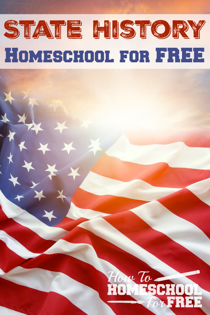 FREE homeschool history resources for your state! Printables, games, activities, and more!