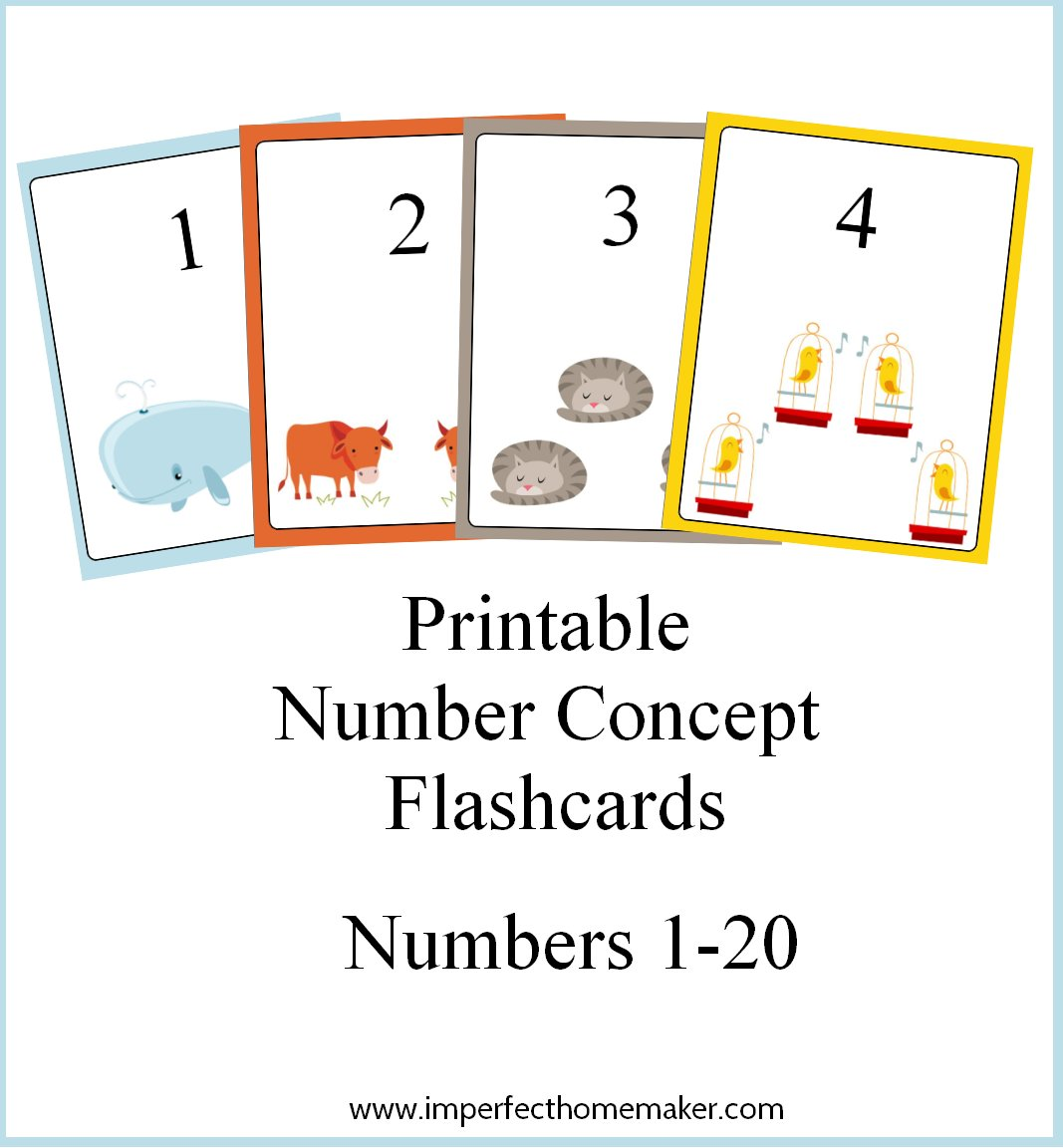 image relating to Printable Numbers Flashcards called Absolutely free Printable Quantity Thought Flashcards - How Towards Homeschool
