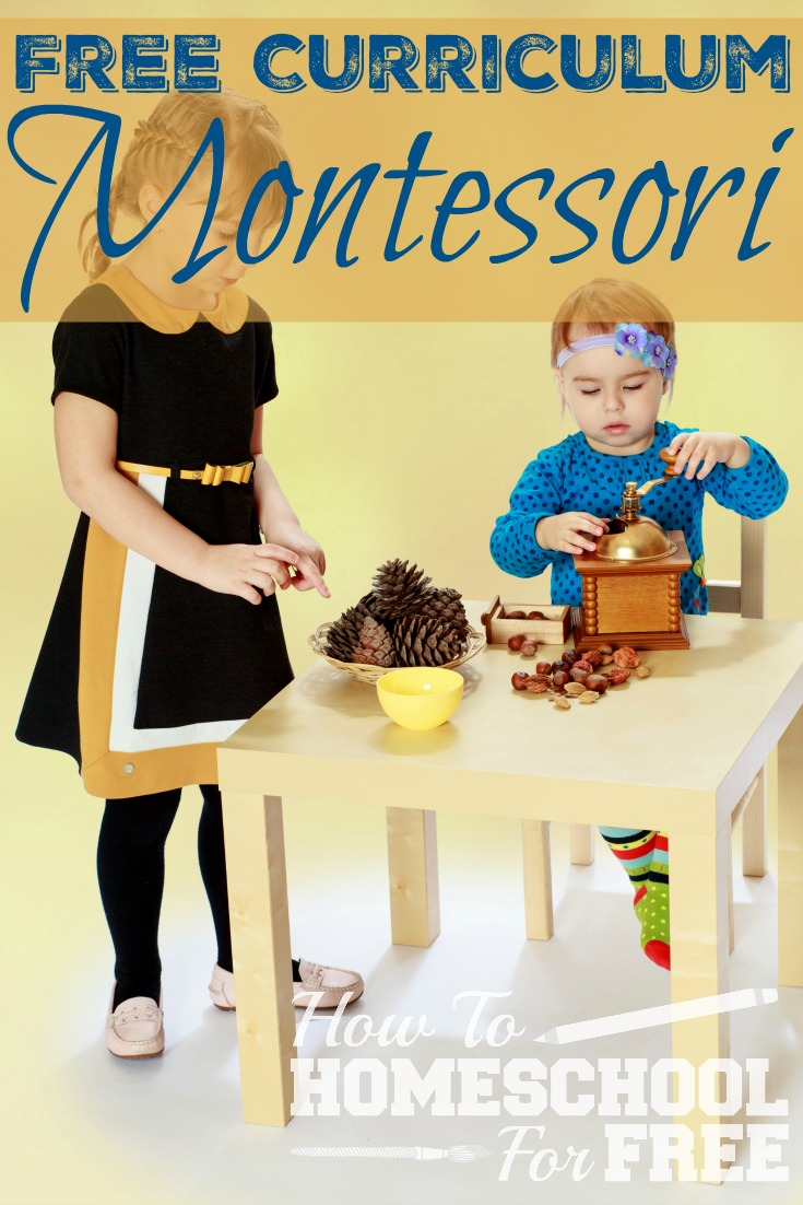 Here is a great Montessori curriculum to supplement your homeschooling!
