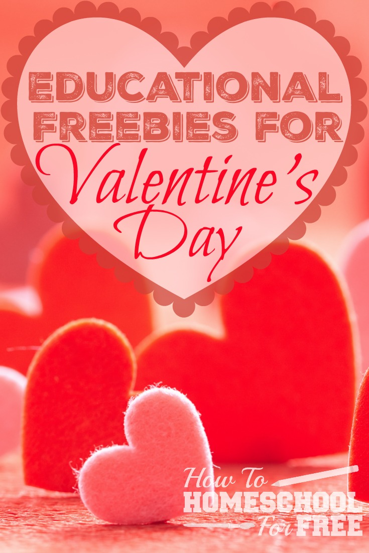 Learn and Celebrate Valentine's Day at the same time with this HUGE list of FREE educational resources!