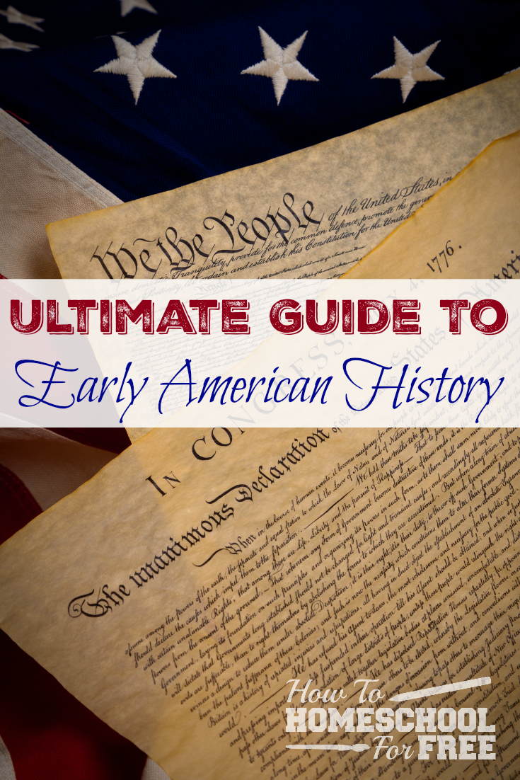Here is a wonderful FREE resource for guiding your children through early American history!