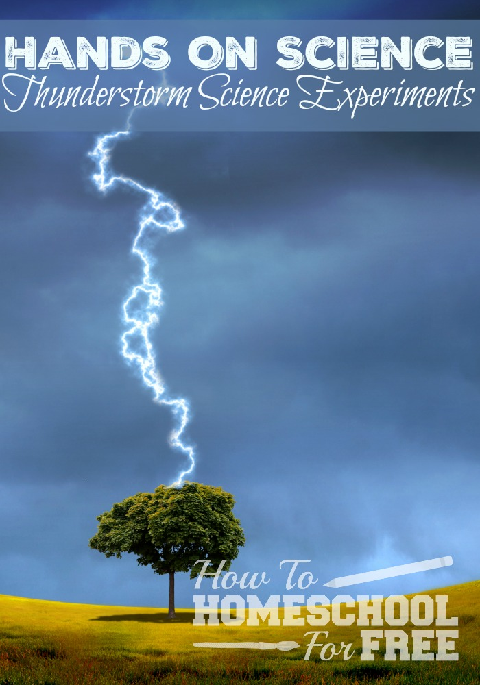 Have some fun with Hands on Weather Science Experiments! How to make lightning, how does it rain, and more!